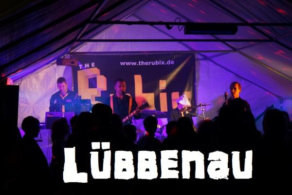 The Rubix 80er Jahre Party in Luebbenau mit Text