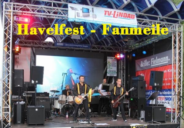 The Rubix Havelfest Fanmeile